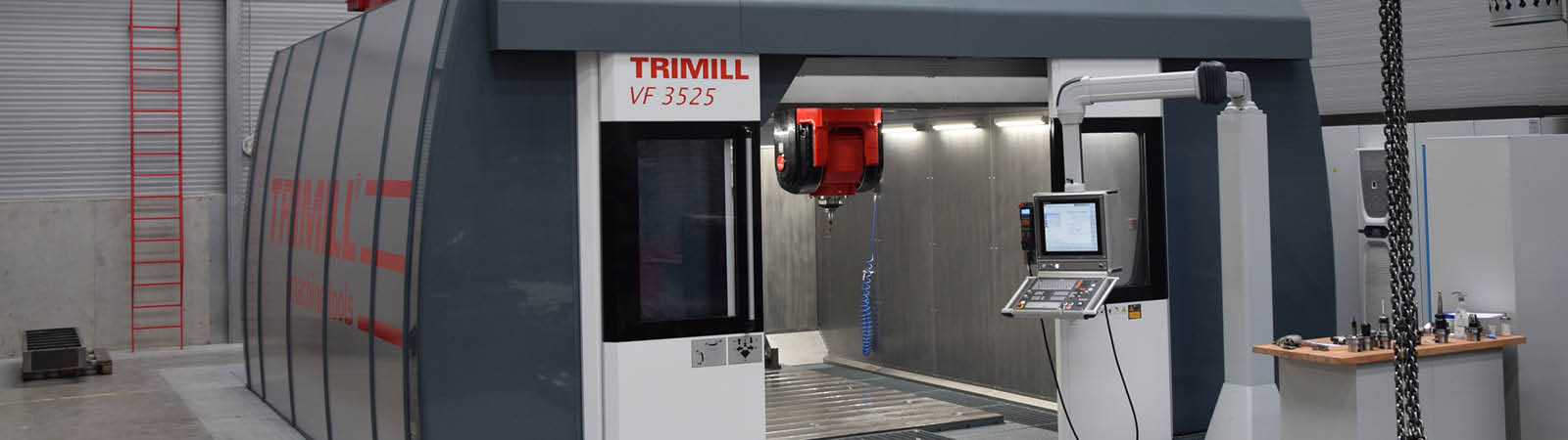 Trimill_CNC_milling machine - prototyping